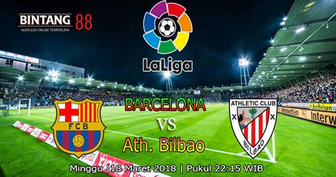 PREDIKSI  Barcelona vs Ath. Bilbao  18 Maret 2018