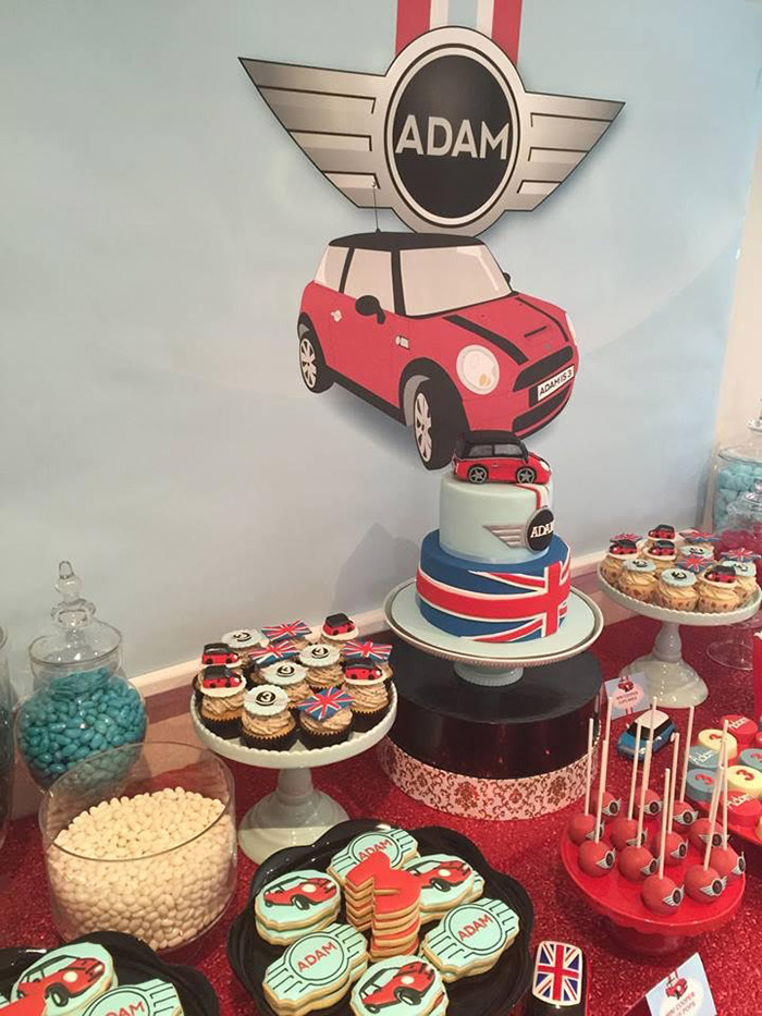 Little Big Company The Blog Mini Cooper themed Party by Mes