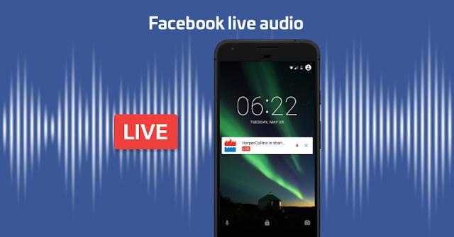 Facebook Live Audio será realidad en el 2017