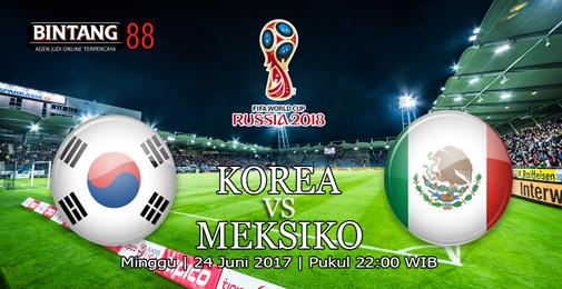 Prediksi Korea Selatan VS Meksiko 23 Juni 2018