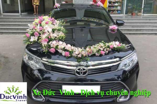 Địa chỉ cho thuê xe cưới Toyota Camry uy tín nhất