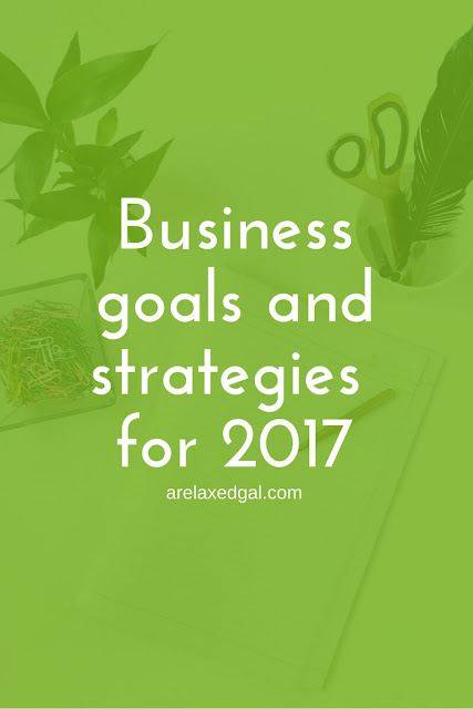 Like many other bloggers as 2016 was coming to a close I reflected on what worked and what didn't work with my site and created goals for 2017. | arelaxedgal.com