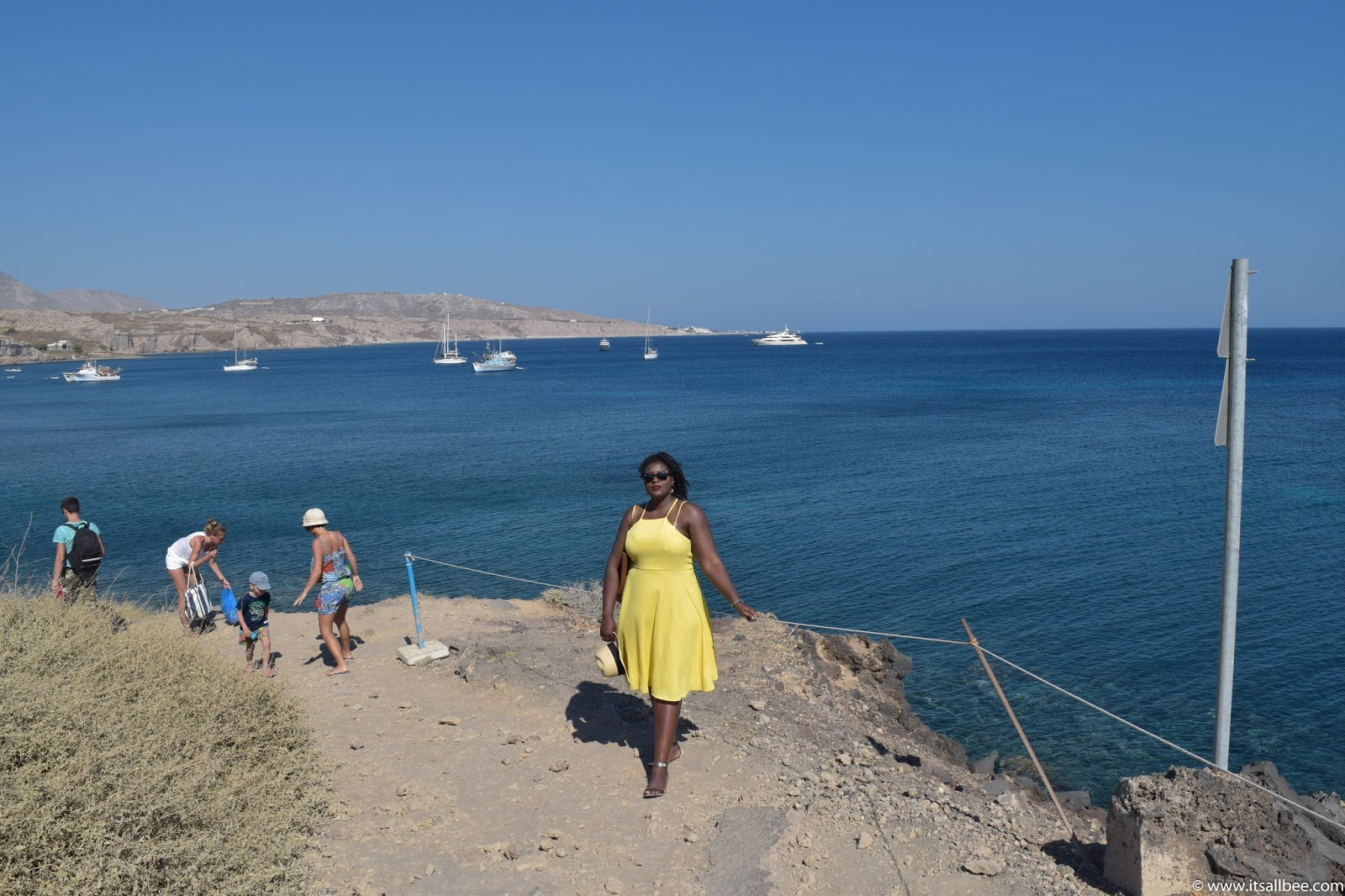 The Best Beaches in santorini | Perissa Beach - Black Beach, Red Beach, White Beach Santorini