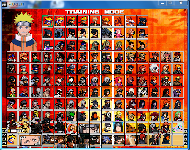 Download Naruto MUGEN Terbaru 2014 PC Full Version