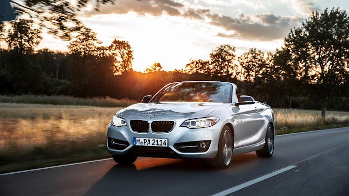 Wallpaper: New BMW 2 Series Convertible