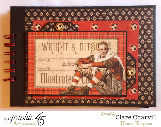 Good Ol' Sport Scrap Book Clare Charvill Graphic 45