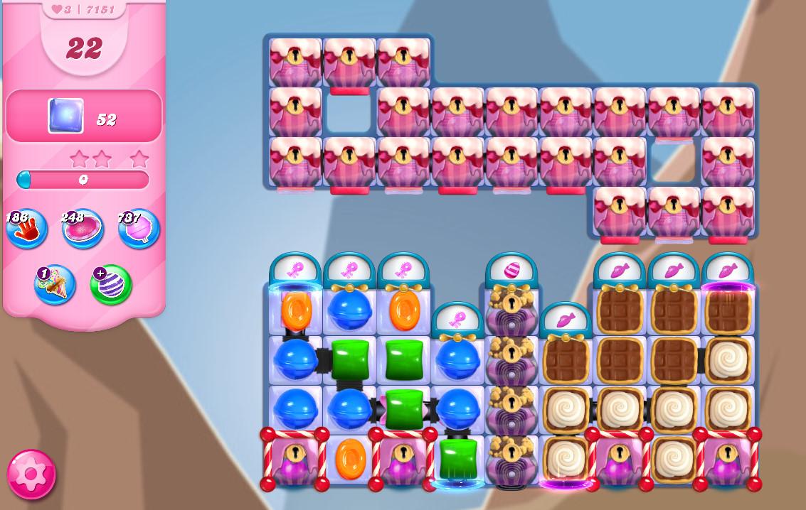 Candy Crush Saga level 7151