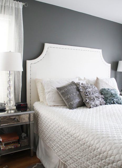 DIY quilted upholstered headboard
