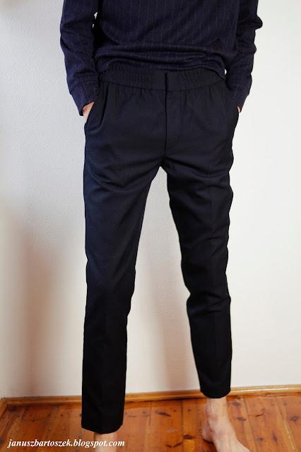 klasyczne spodnie h&m