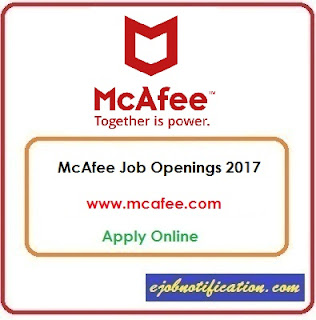 Software Engineer Openings at McAfee Jobs in Bangalore Apply Online