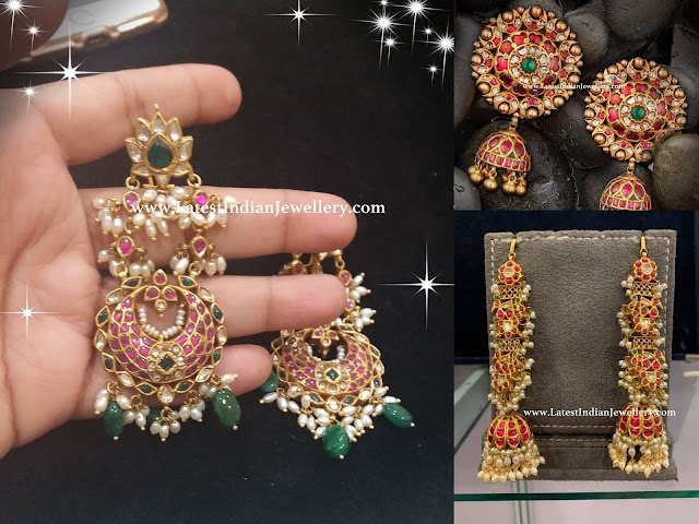 Grand Ruby Earrings