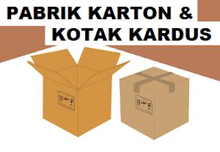 alamat kantor pabrik produsen kardus di Jkt Timur, Barat, Utr, Sltn
