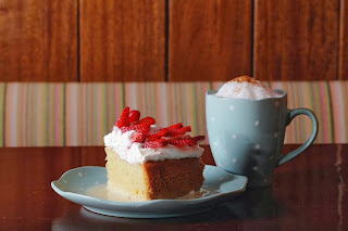Tres Leche cake at Chatterbox Cafe - The 5 best cafes in Karachi