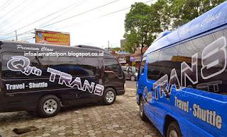 jurusan qyta trans travel