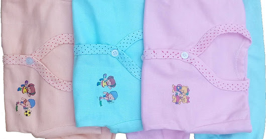 Cotton Suite For Baby 0-6 Months Combo Pack Of 3 ( 3 Top And 3 Bottom)