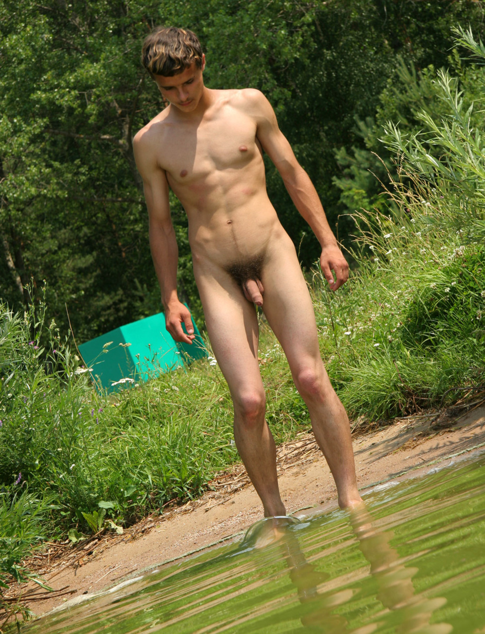Natural male nude