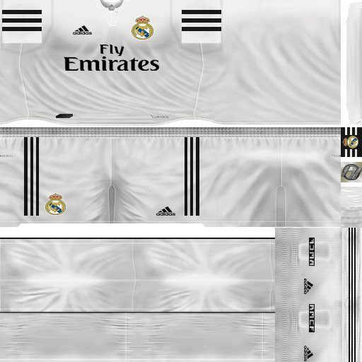 Kit Real Madrid Para Pes 2019: PES 6 Kits Real Madrid Season 2018/2019 By FacaA/Ngel