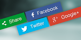 Cara Pasang Tombol Share Media Sosial Facebook, Twitter, Google Plus Murni CSS