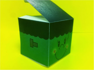 Frankenstein Monster Halloween Party Favor Box