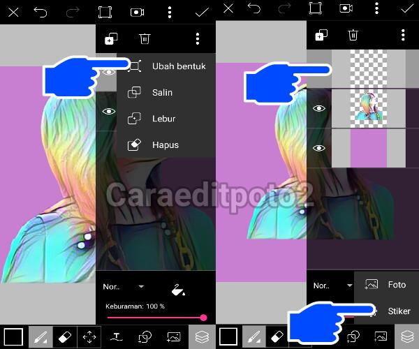 Tutorial Editing Picsart | Magic Splash di Android