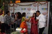 Marath Actrss Urmila Kanitkar Celetes Gudi Padwa in Orange Saree 07.JPG