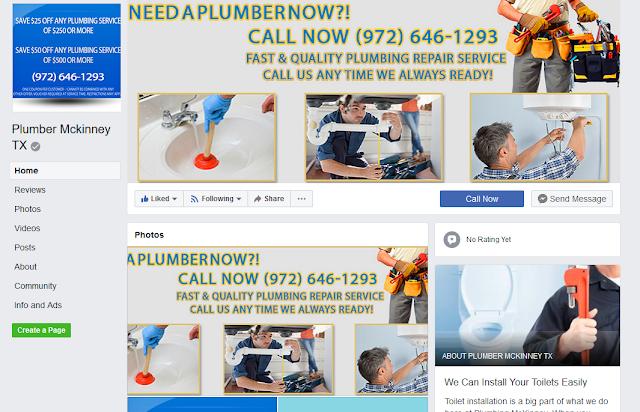 https://www.facebook.com/Plumber-Mckinney-TX-1634066230020729/
