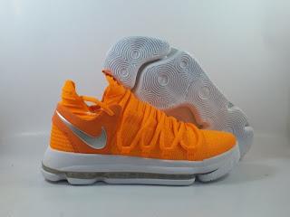 Nike KD 10 - Orange White