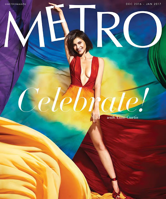 Anne Curtis for Metro Magazine December January Issue