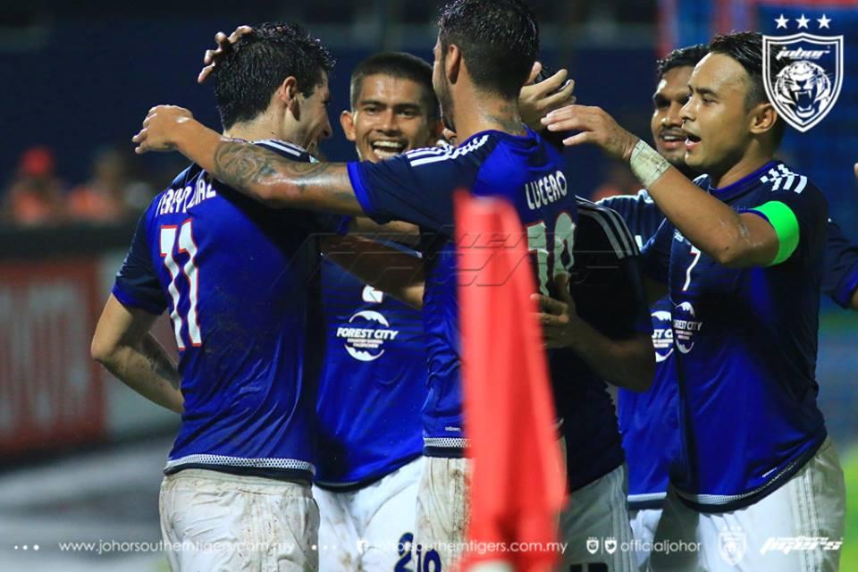 JDT vs Kaya FC, 7-2