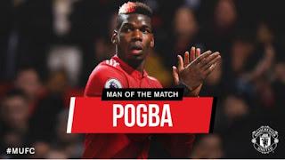 Pogba Man of the Match Manchester United vs Newcastle 4-1