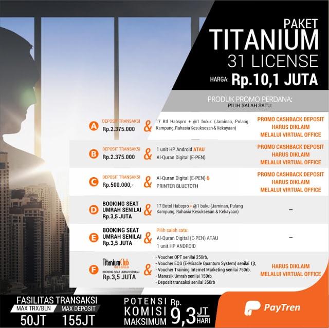 Paket-paytren-Titanium-31-lisensi