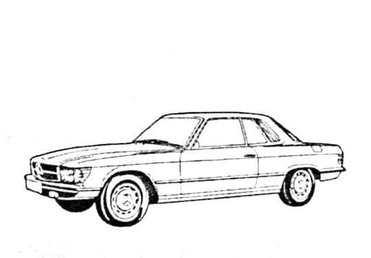 JesCarClassic: MERCEDES W107 1971-1989