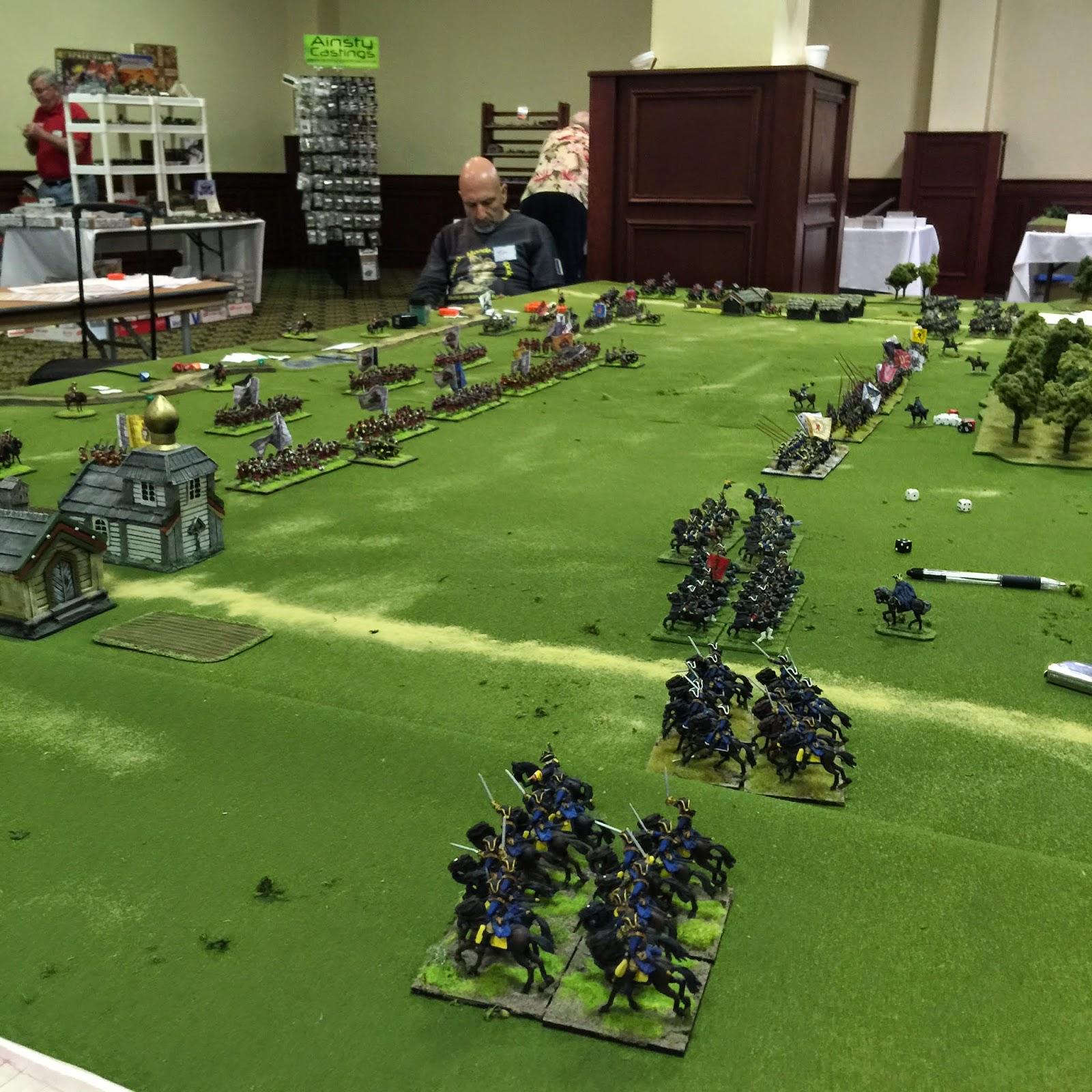 BLB & Warfare Miniatures at Seven Years War Con, South ...
