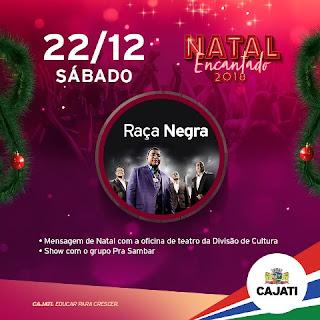 Praça da Bíblia será o novo palco do show da banda Raça Negra em Cajati