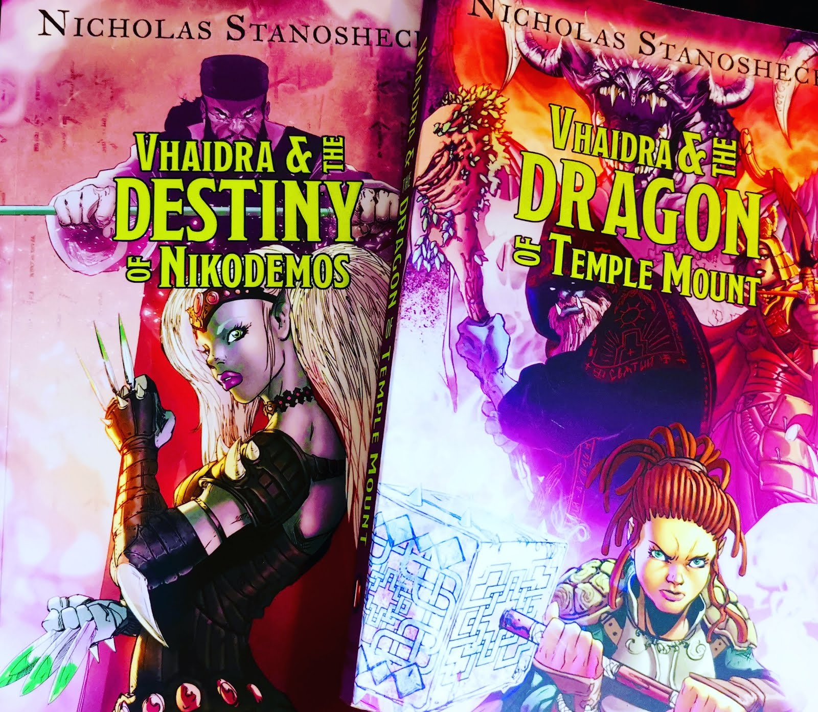 THE VHAIDRA SAGA:  A series of Epic Fantasy / Action & Adventure Novels by Nicholas Stanosheck