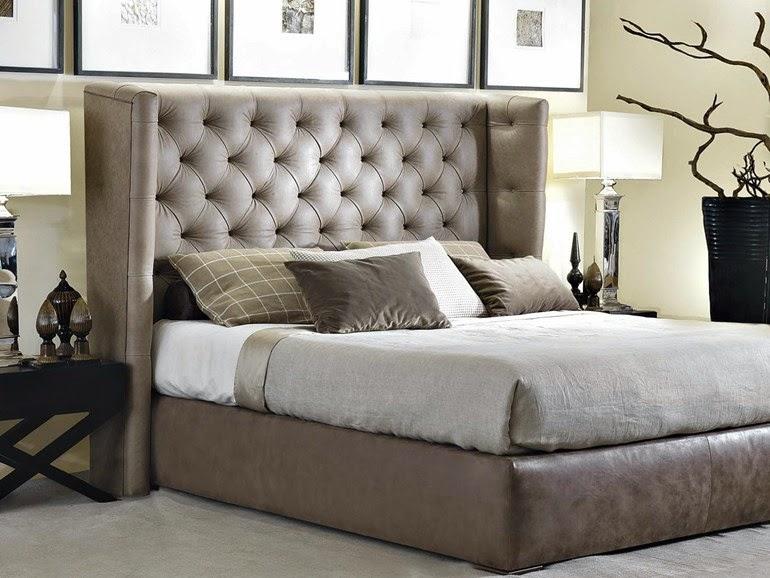 camas box modernas  cabeceira alta decoracao  ideias