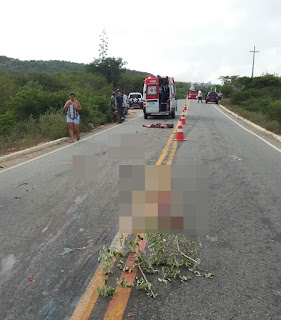 Homem é partido ao meio em acidente na PB - 137 em Picuí