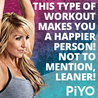 PiYO Chalene Johnson Quote happy, vanessamc246, PiYO, pilates, yoga, weightless, exercise, fitness, beach body