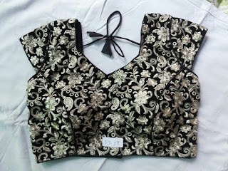 HEAVY EMBROIDERY WORK BLOUSE