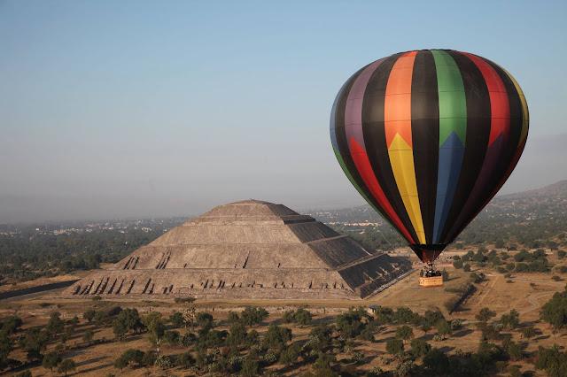 Vuelo en Globo en Teotihuacan