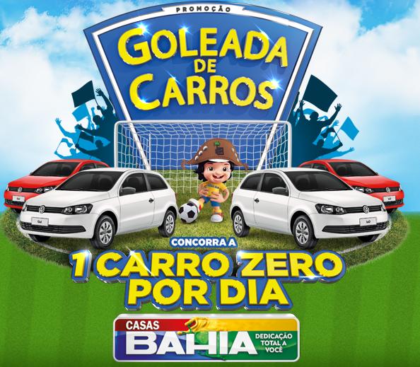 """""""Goleada de Prêmios"""" Casas Bahia"""