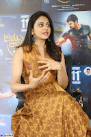 Rakul Preet Singh smiling Beautyin Brown Deep neck Sleeveless Gown at her interview 2.8.17 ~  Exclusive Celebrities Galleries 104.JPG