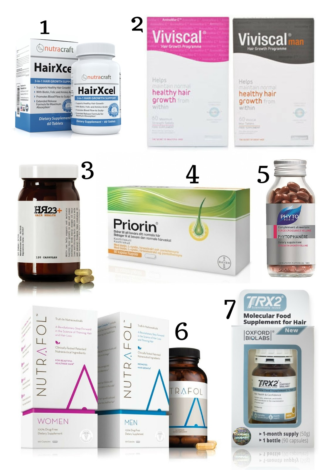 supplements for treating hair loss - hair loss review centre