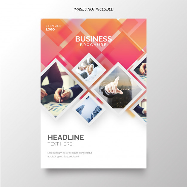 annual report template free Annual report template for business Free Vector