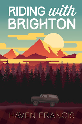 RIDING WITH BRIGHTON BY HAVEN FRANCIS cover
