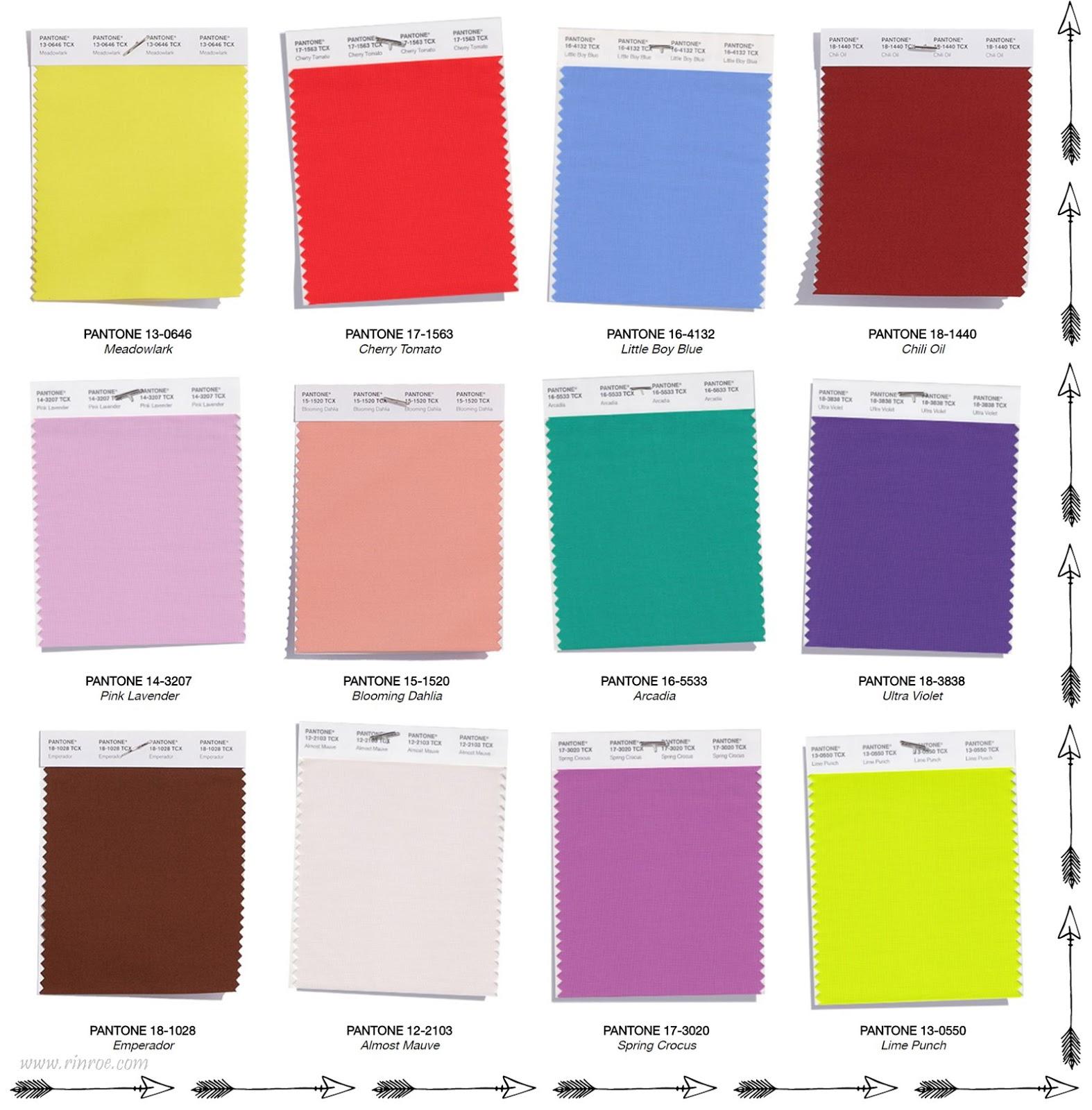 Jakie kolory będą modne na wiosnę?