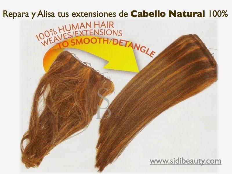 Repara y Alisa tus Extensiones de cabello Natural