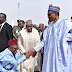 Governor El-Rufai Of Kaduna State Almost Knelt To Greet President Buhari