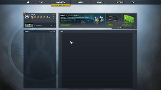 เล่นเกมส์ Counter Strike Global Offensive