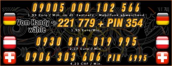 Telefonsex mit Shemales für Deutschland, Österreich und Schweiz